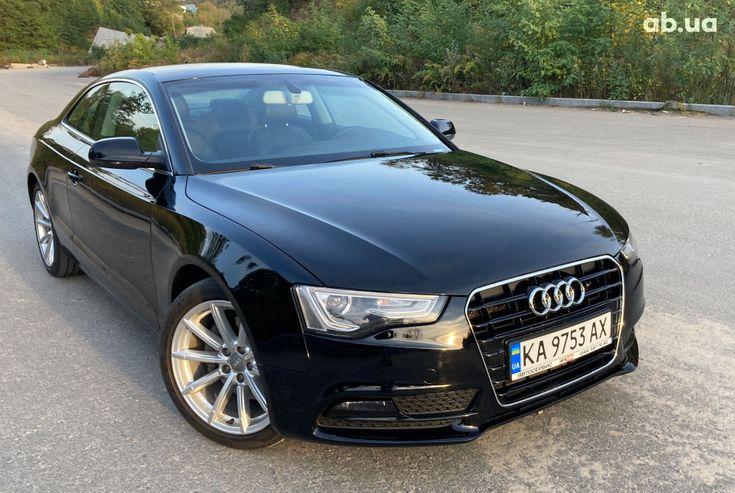 Audi A5 2014 черный - фото 4