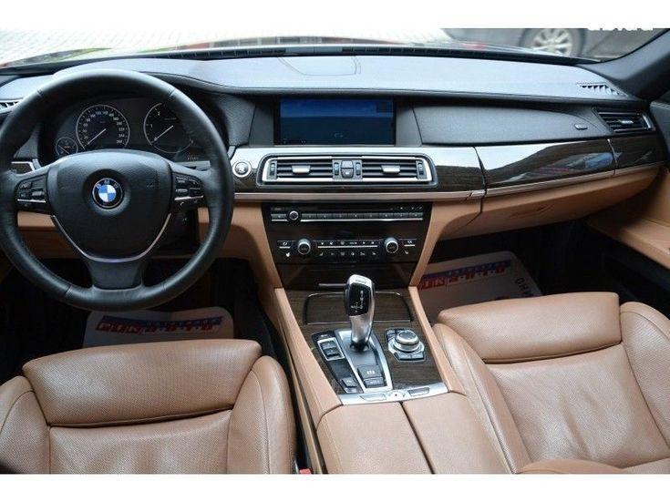BMW 7 серия 2009 черный - фото 10