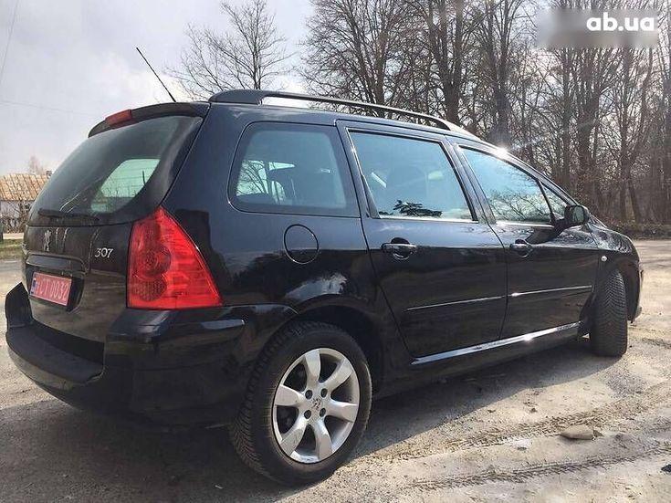 Peugeot 307 2007 черный - фото 6