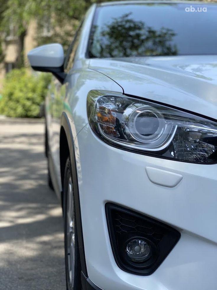 Mazda CX-5 2014 белый - фото 4