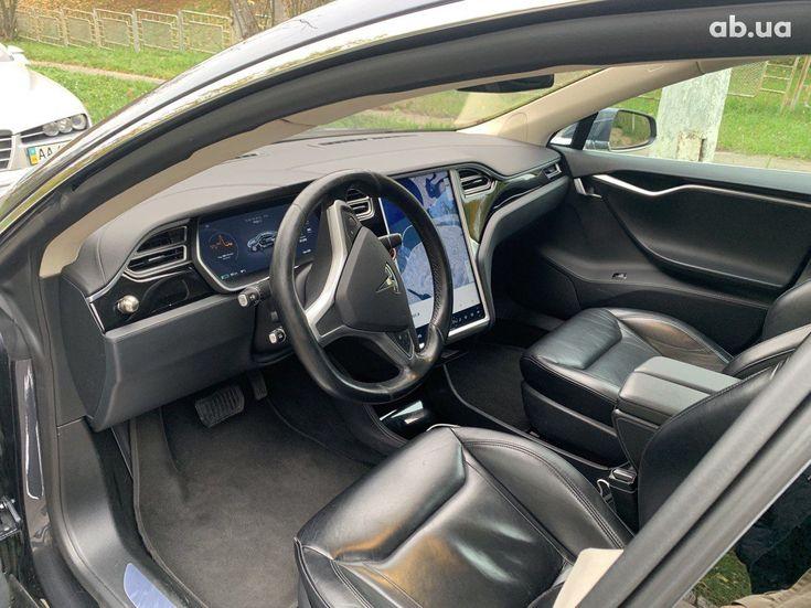 Tesla Model S 2015 серый - фото 10