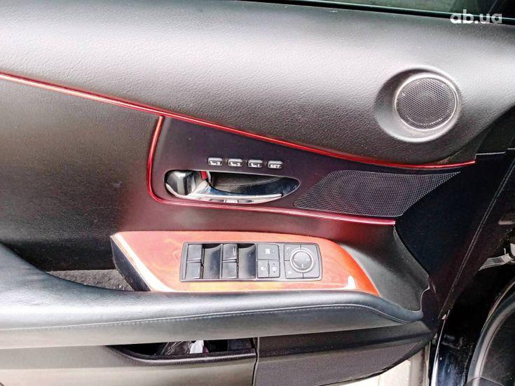 Lexus RX 2010 черный - фото 19
