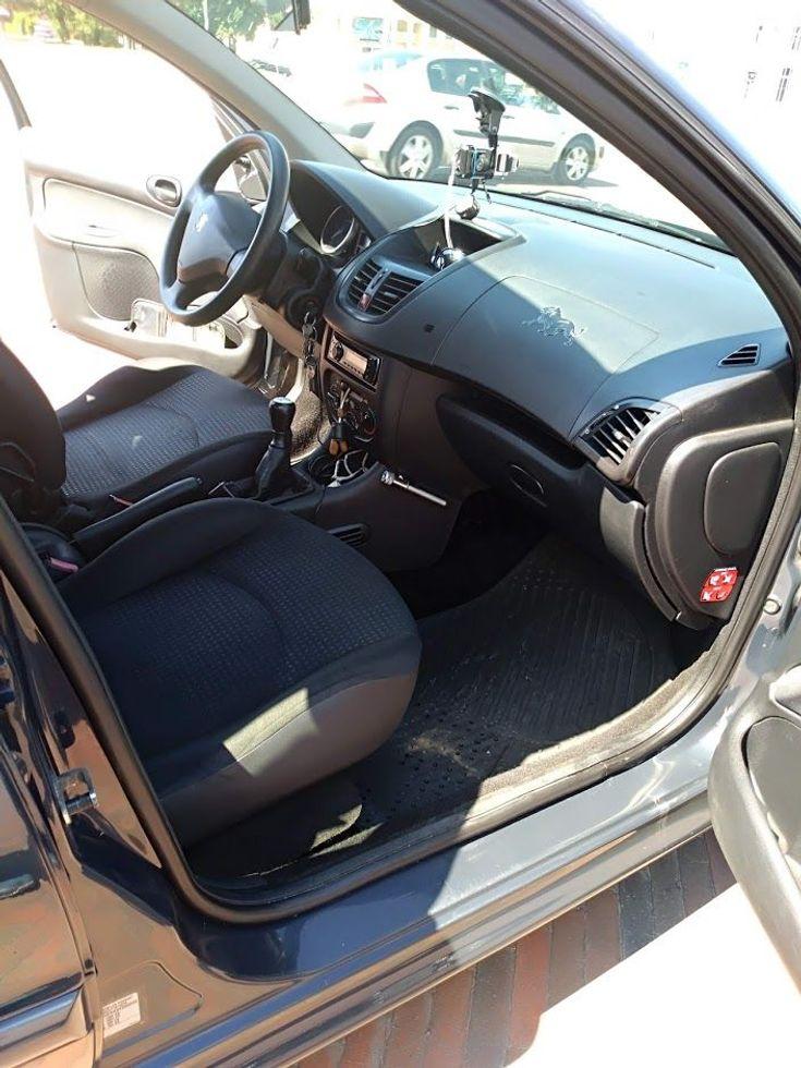 Peugeot 206 2009 серый - фото 8