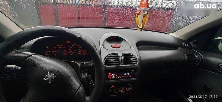 Peugeot 206 2008 белый - фото 9