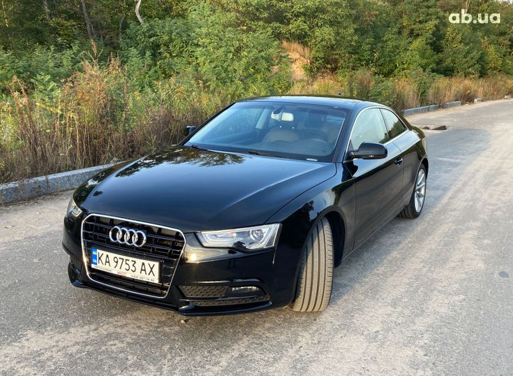 Audi A5 2014 черный - фото 5