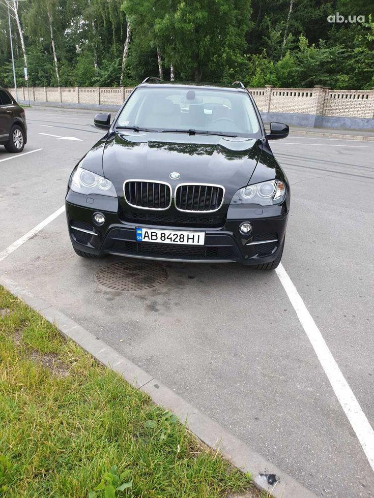 BMW X5 2011 черный - фото 1