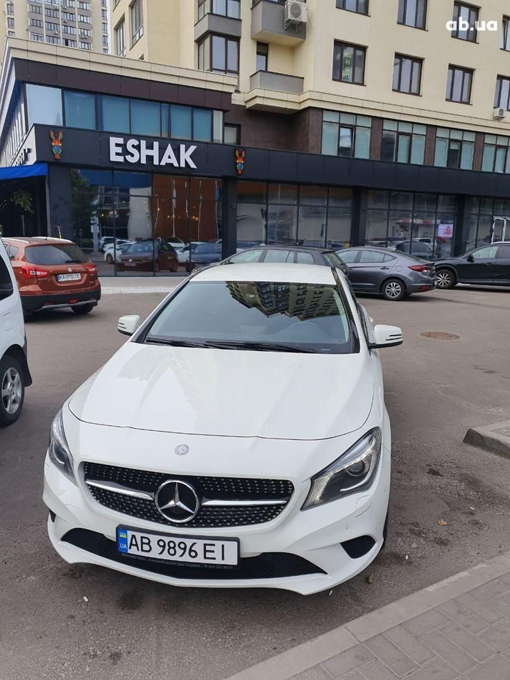 Mercedes-Benz CLA-Класс 2014 белый - фото 3