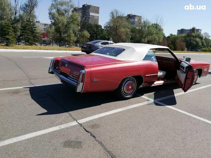 Cadillac Eldorado 1979 вишневый - фото 3