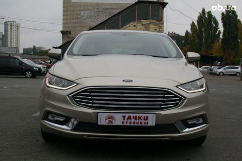 Ford Fusion 2017 серый - фото 2