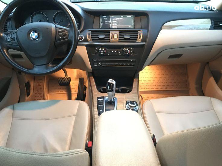 BMW X3 2013 черный - фото 20