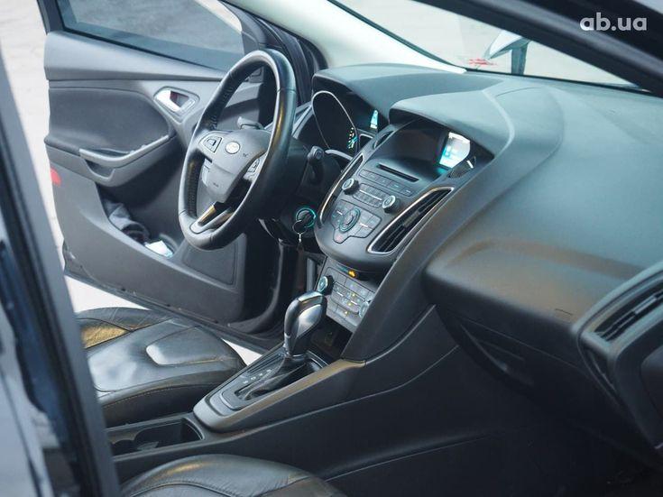 Ford Focus 2015 черный - фото 10