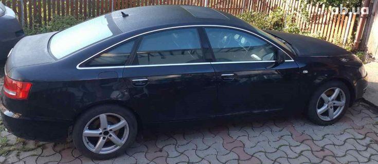 Audi A6 2005 черный - фото 3