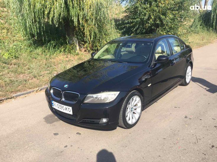 BMW 3 серия 2010 черный - фото 1