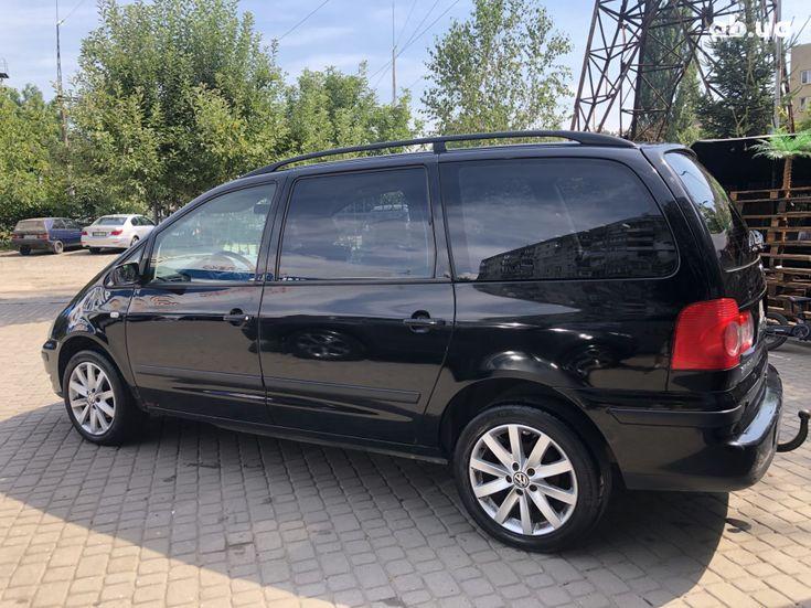 Volkswagen Sharan 2000 черный - фото 3