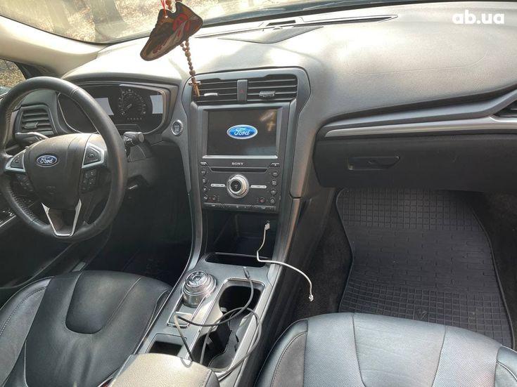 Ford Fusion 2017 черный - фото 14