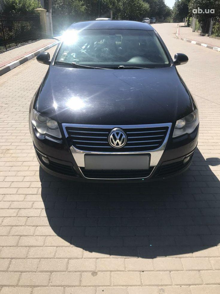 Volkswagen Passat 2007 черный - фото 1