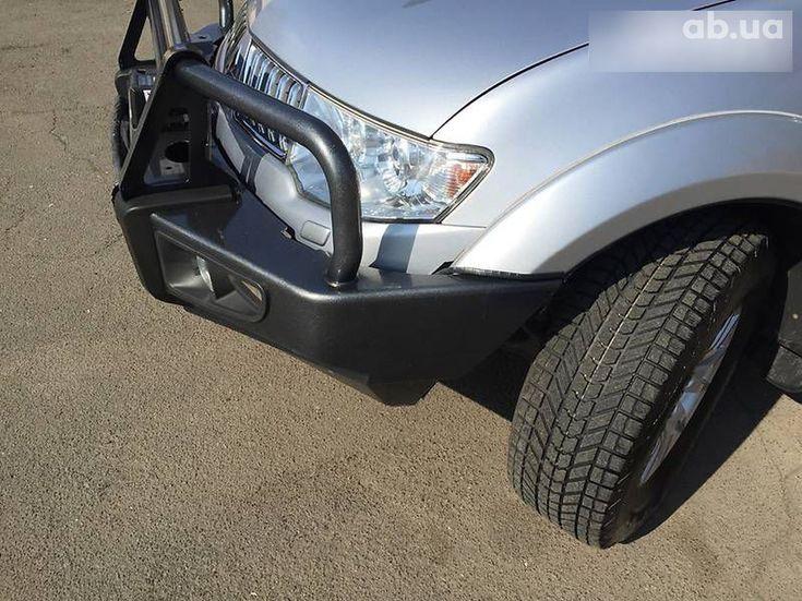 Mitsubishi Pajero Sport 2011 серый - фото 5