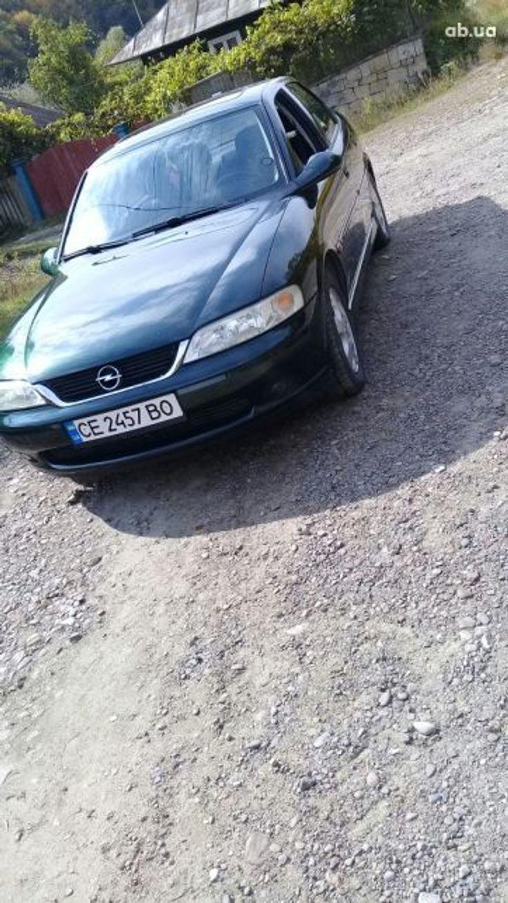 Opel Vectra 1999 зеленый - фото 3