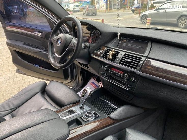 BMW X6 2014 серый - фото 7