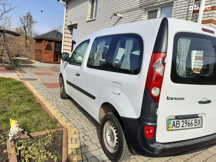 Renault Kangoo 2011 белый - фото 11