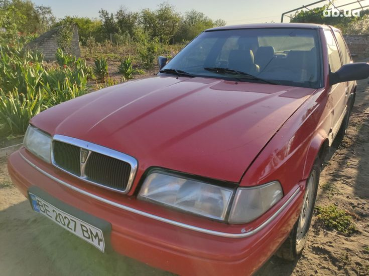 Rover 820 1994 красный - фото 1