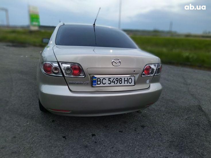 Mazda 6 2003 золотистый - фото 5