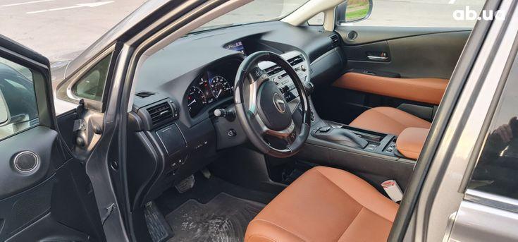 Lexus rx 350 2013 серый - фото 10