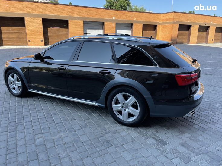 Audi a6 allroad 2013 коричневый - фото 4