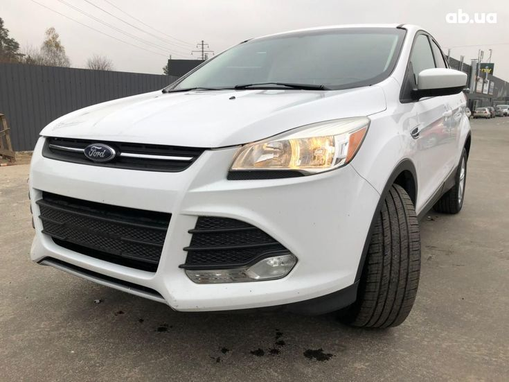 Ford Escape 2016 белый - фото 2