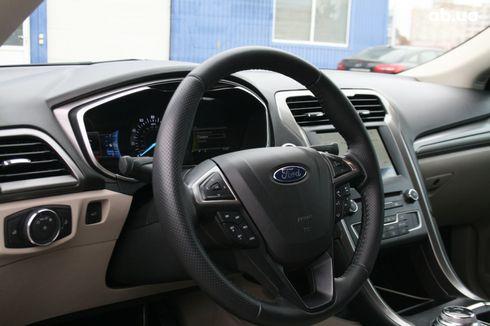 Ford Fusion 2017 серый - фото 15