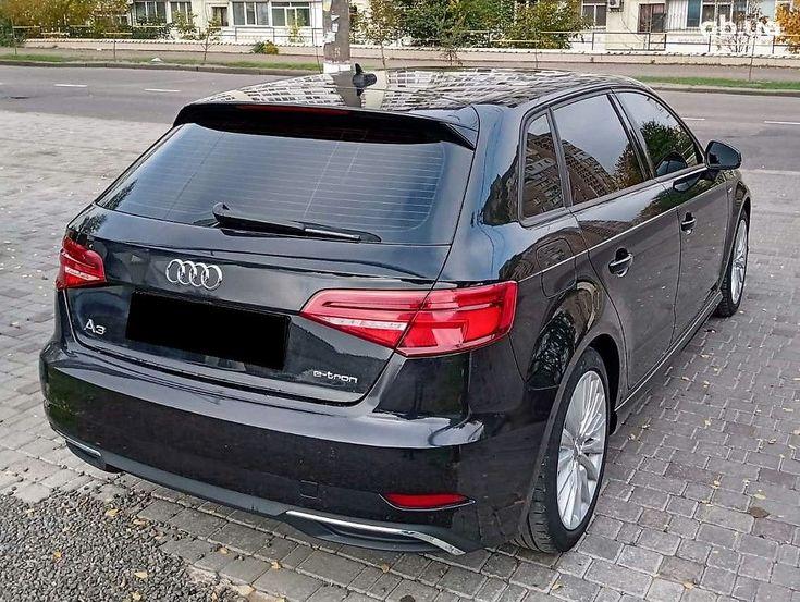 Audi A3 2017 черный - фото 4