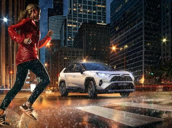 Гибрид Тойота RAV4 Hybrid 2020 года б/у - купить на Автобазаре