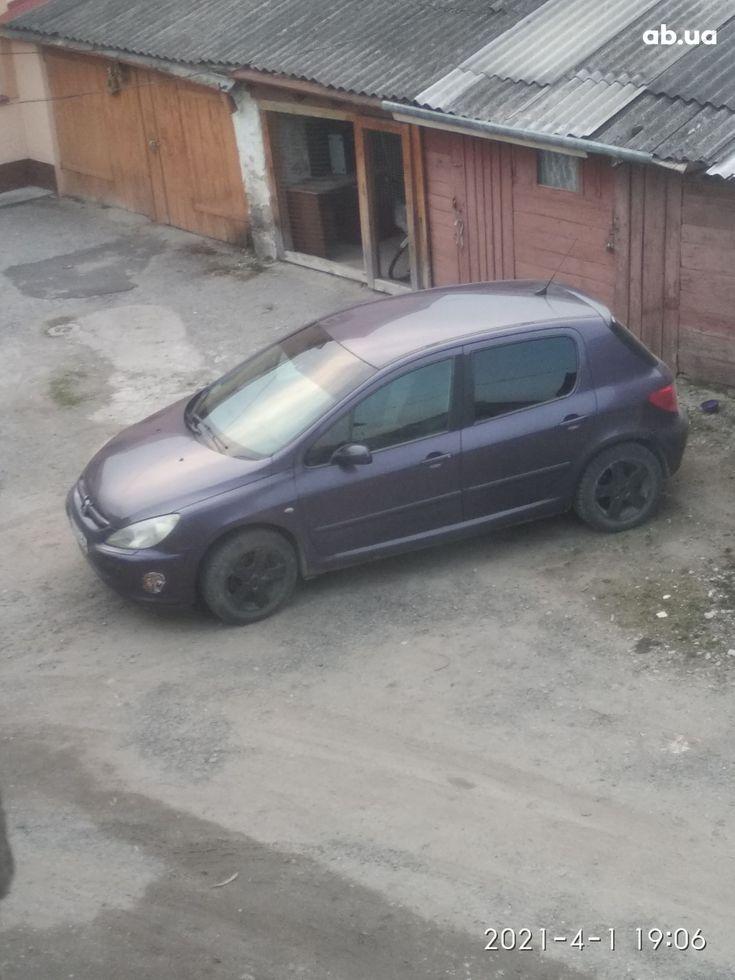 Peugeot 307 2003 фиолетовый - фото 6