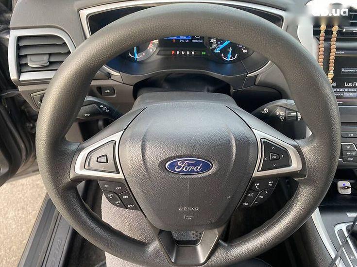 Ford Fusion 2014 серый - фото 8