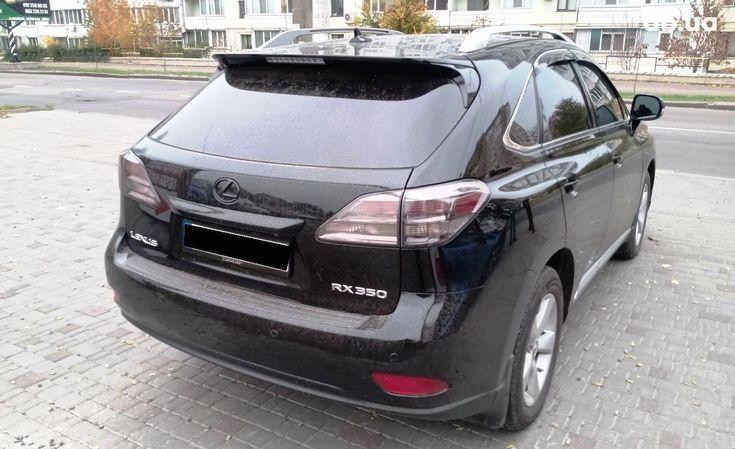 Lexus RX 2010 черный - фото 6