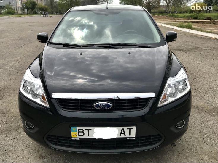 Ford Focus 2011 черный - фото 1