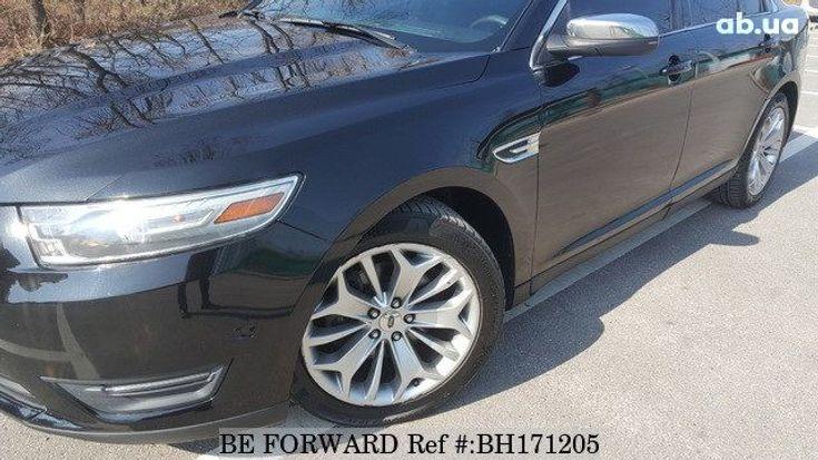 Ford Taurus 2014 черный - фото 6