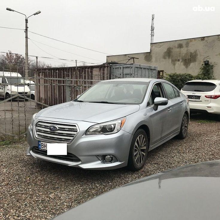 Subaru Legacy 2019 серебристый - фото 1