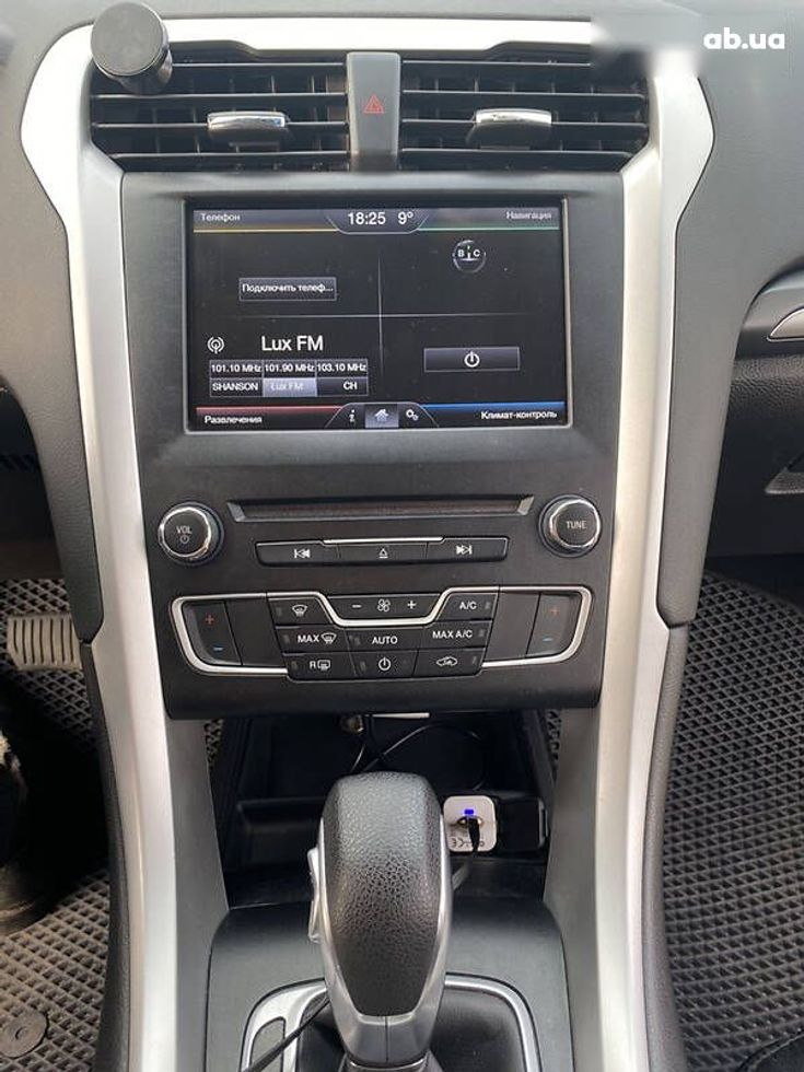Ford Fusion 2014 серый - фото 7