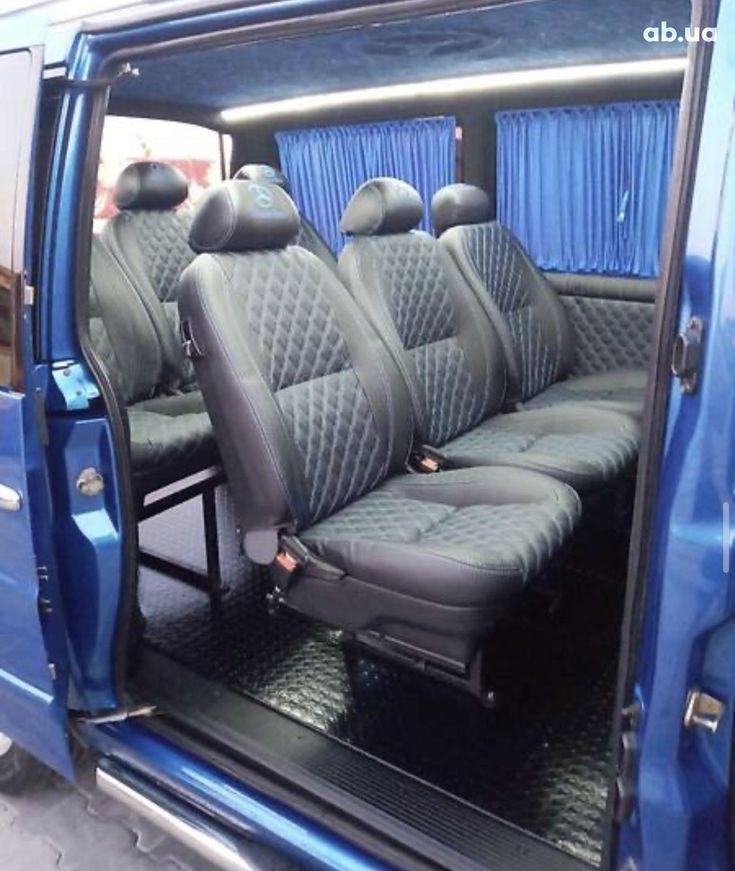 Mercedes-Benz Vito 2003 синий - фото 18