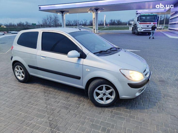 Hyundai Getz 2005 серый - фото 3