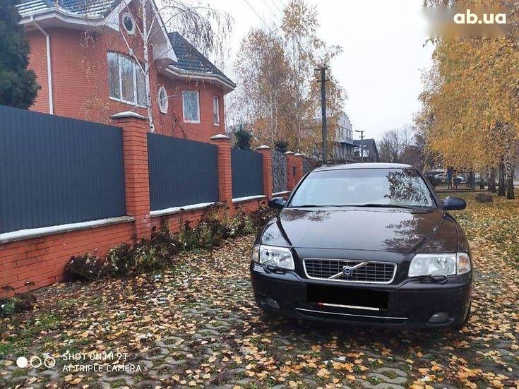 Volvo S80 2006 черный - фото 13