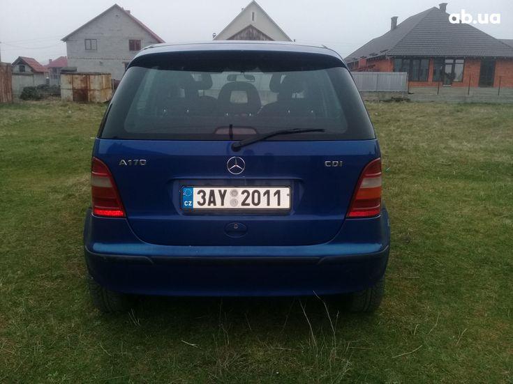 Mercedes-Benz A-Класс 2000 синий - фото 4
