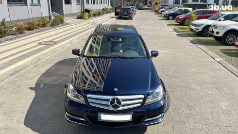 Mercedes-Benz C-Класс 2013 синий - фото 6