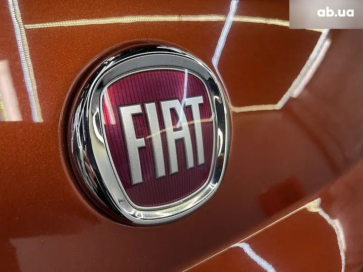 Fiat 500 2016 коричневый - фото 7