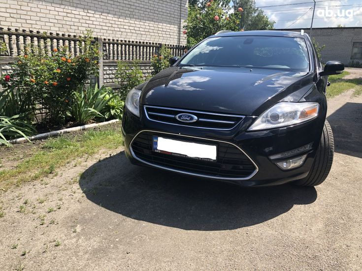 Ford Mondeo 2012 черный - фото 6