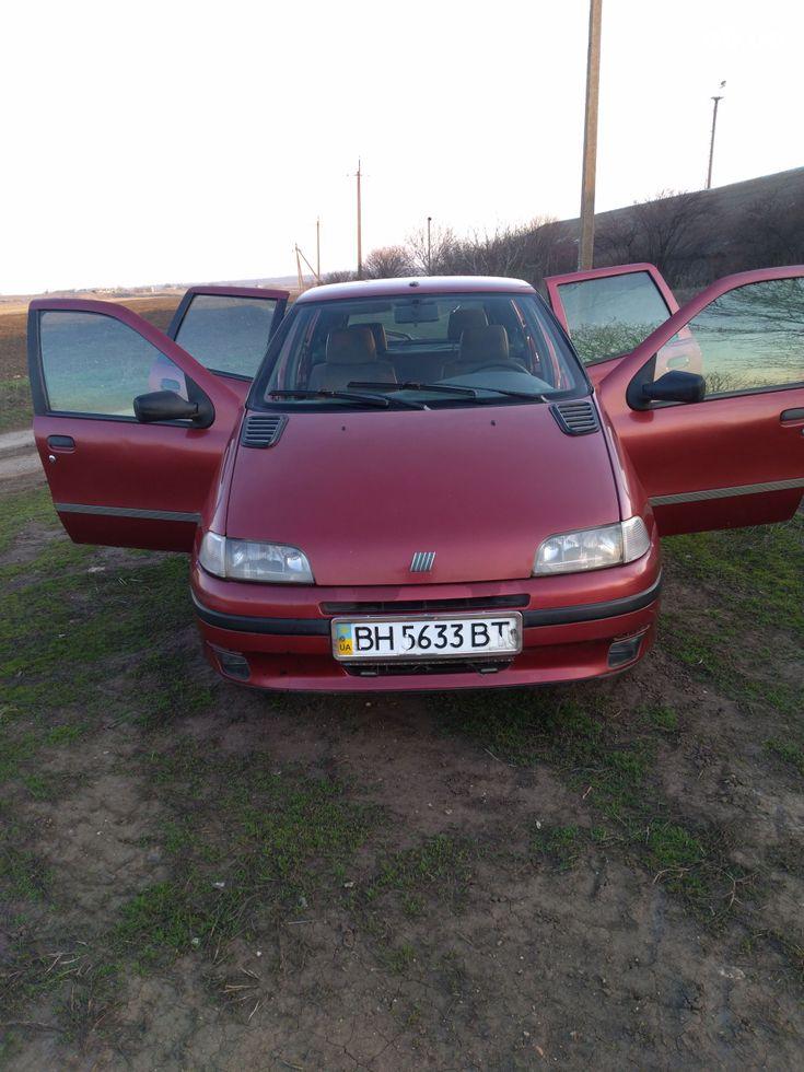 Fiat Punto 1998 красный - фото 1
