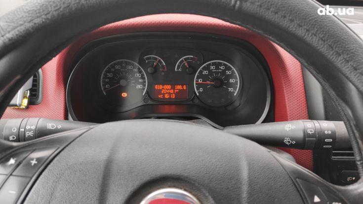 Fiat Doblo 2010 вишневый - фото 5