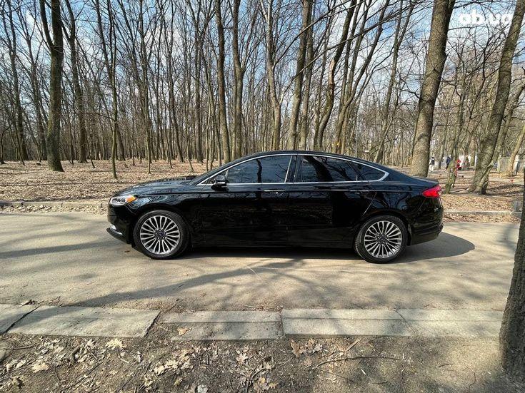Ford Fusion 2017 черный - фото 4