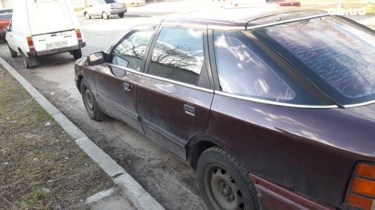 Ford Scorpio 1985 вишневый - фото 7